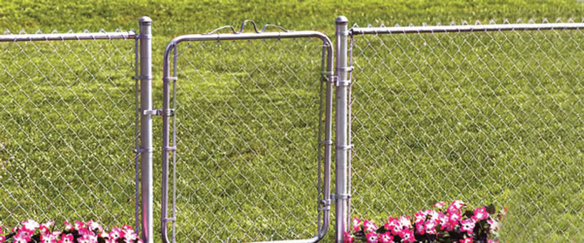 Chain link fence installation process tools materials for Fence installation tips
